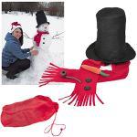 Набор для лепки снеговика